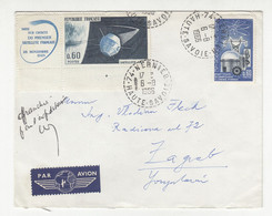 France Letter Cover Posted Air Mail 1966 To Yugoslavia B211015 - Briefe U. Dokumente