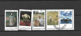 FINLANDIA - 1987 - N. 987/91 USATI (CATALOGO UNIFICATO) - Gebraucht