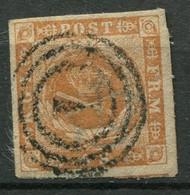 Dänemark Nr.4        O  Used        (770) - Gebraucht