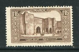 MAROC- Y&T N°117- Neuf Avec Charnière * - Unused Stamps