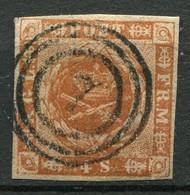 Dänemark Nr.4        O  Used        (771) - Gebraucht