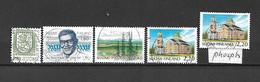 FINLANDIA - 1988 - N. 999 - N. 1000 - N. 1001 - N. 1002 - N. 1002A USATI (CATALOGO UNIFICATO) - Gebraucht