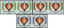 ** KUWAIT - Poste - 1105/07, 3  Paires Non Dentelées (tirage150): Santé, Enfance - Kuwait