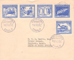 CHILE - LETTER 1952 O'HIGGINS ANTARTICO CHILENO  /QG117 - Cile