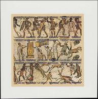 (*) LIBYE - Poste - 1234/42, Tirage Spécial Sur Papier Carton Glacé, Feuillet Grand Format: Mosaïques - Libië