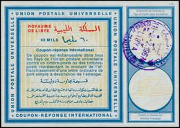 O LIBYE - Coupons Réponse - Coupon International 60m. (Cad 1/2/67) - Libië