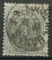 Dänemark Nr.22 II Y A        O  Used        (773) - Used Stamps