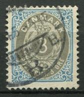 Dänemark Nr.22 I Z B        O  Used        (774) - Used Stamps