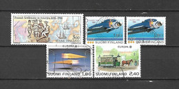 FINLANDIA - 1988 - N. 1012 - N. 1013x2 - N. 1015/16 USATI (CATALOGO UNIFICATO) - Gebraucht