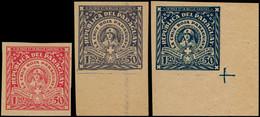 (*) PARAGUAY - Poste - 317/19, Complet, Non Dentelé: Croix-Rouge 1930 - Paraguay