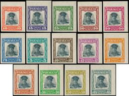 * PARAGUAY - Poste - 550/57 + Pa. 238/43, Non Dentelés, Cdf (tirage 200): Pdt. Stroessner - Paraguay