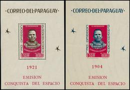 ** PARAGUAY - Blocs Feuillets - Michel 46/47, Dentelé + Non Dentelé: Gordon Cooper - Paraguay