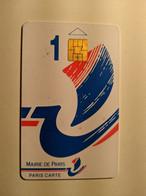 TELECARTE FRANCE TELECOM  MAIRIE DE PARIS  CARTE DE STATIONNEMENT - Unclassified