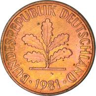 Monnaie, République Fédérale Allemande, 2 Pfennig, 1981, Stuttgart, TTB+ - Sonstige