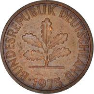 Monnaie, République Fédérale Allemande, 2 Pfennig, 1975, TTB, Copper Plated - Sonstige