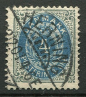 Dänemark Nr.23 II Y B        O  Used        (777) - Used Stamps