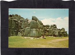 105001          Peru,  Cuzco,  Sacsayhuaman,  Famosa  Fortaleza  Inca,  NV(scritta) - Pérou