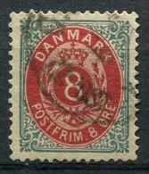 Dänemark Nr.25 II Y A         O  Used        (780) - Used Stamps