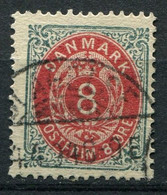 Dänemark Nr.25 II Y A         O  Used        (781) - Used Stamps