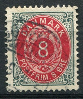 Dänemark Nr.25 II Y B         O  Used        (782) - Used Stamps