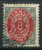 Dänemark Nr.25 II Y B         O  Used        (783) - Used Stamps