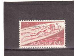 CECOSLOVACCHIA 1961 UOMO NELLO SPAZIO - Europa