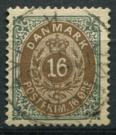 Dänemark Nr.27 II Y A         O  Used        (785) - Used Stamps