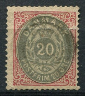 Dänemark Nr.28 II Y A         O  Used        (787) - Used Stamps