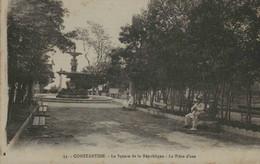 Algérie - CONSTANTINE - Le Square De La République - La Pièce D'eau - Constantine