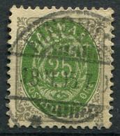 Dänemark Nr.29 I Y B         O  Used        (788) - Used Stamps