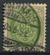 Dänemark Nr.29 II Y B         O  Used        (791) - Used Stamps