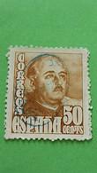ESPAGNE - SPAIN - Timbre 1948 : Histoire - Général FRANCO - 1931-50 Usati