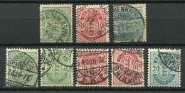 Dänemark Nr.34/6 Y+Z, A+B         O  Used        (795) - Used Stamps