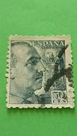 ESPAGNE - SPAIN - Timbre 1939 : Histoire - Général FRANCO - 1931-50 Usati