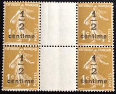N° 279Ax4       NEUF ** SANS CHARNIÈRE   ( LOT:12080) - 1906-38 Sower - Cameo