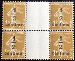 N° 279Ax4       NEUF ** SANS CHARNIÈRE   ( LOT:12082) - 1906-38 Sower - Cameo