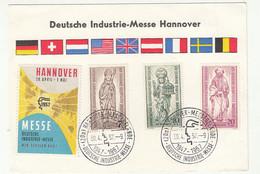 Deutsche Industrie-Messe Hannover 1957 Special Pmk B211015 - Briefe U. Dokumente