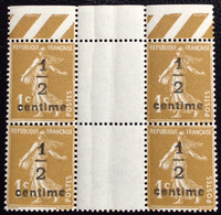 N° 279Ax4       NEUF ** SANS CHARNIÈRE   ( LOT:12083) - 1906-38 Sower - Cameo