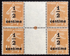 N° 279Bx4       NEUF ** SANS CHARNIÈRE   ( LOT:12085) - 1906-38 Sower - Cameo