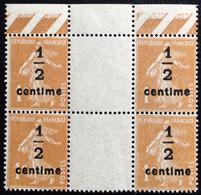 N° 279Bx4       NEUF ** SANS CHARNIÈRE   ( LOT:12087) - 1906-38 Sower - Cameo