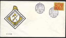 Portugal Cachet Commémoratif Sapeurs-Pompiers 1964 Event Postmark Firefighters - Firemen