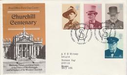 GB LETTRE FDC 1973 CNTENAIRE U P U - Covers & Documents