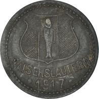 Monnaie, Allemagne, Kriegsgeld, Kaiserlautern, 10 Pfennig, 1917, TB+, Zinc - Notgeld