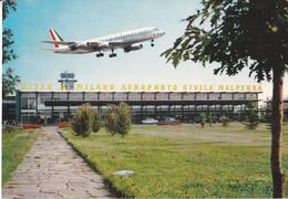 Aeroporto Malpensa - Ingresso - Aereo - Cartolina Per Recluta,in Codice - Varese