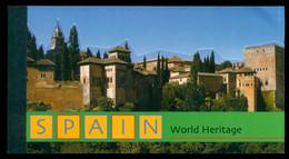 UN New York 2000 World Heritage Sites Spain Booklet MUH - Markenheftchen