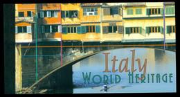 UN New York 2002 World Heritage Sites Italy Booklet MUH - Markenheftchen