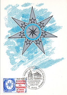 France 1945 Fdc Association Internationale Des Parlementaires De Langue Française, Assemblée, Pont - Non Classificati