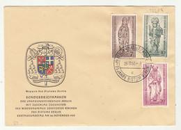 25 Jahre Bistum Berlin 1955 FDC B211015 - FDC: Briefe