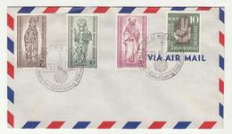 Deutscher Katholikentag 1956 Koeln Special Pmk On Letter Cover B211015 - Briefe U. Dokumente
