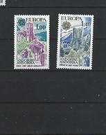 ANDORRE FRANCAIS - TIMBRES NEUFS** N° 261/262 - 1977 - EUROPA - VOIR SCAN - Ungebraucht